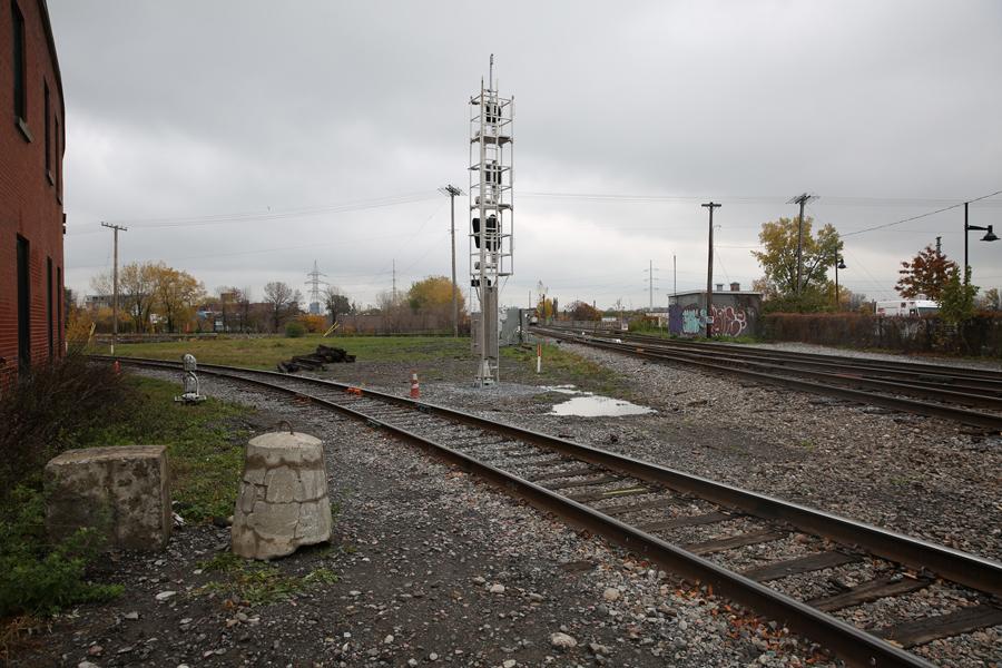 07 St Ambroise Rail Crossing - Capture photo 2 - Sounding the City 001 - Montréal 2015-2016