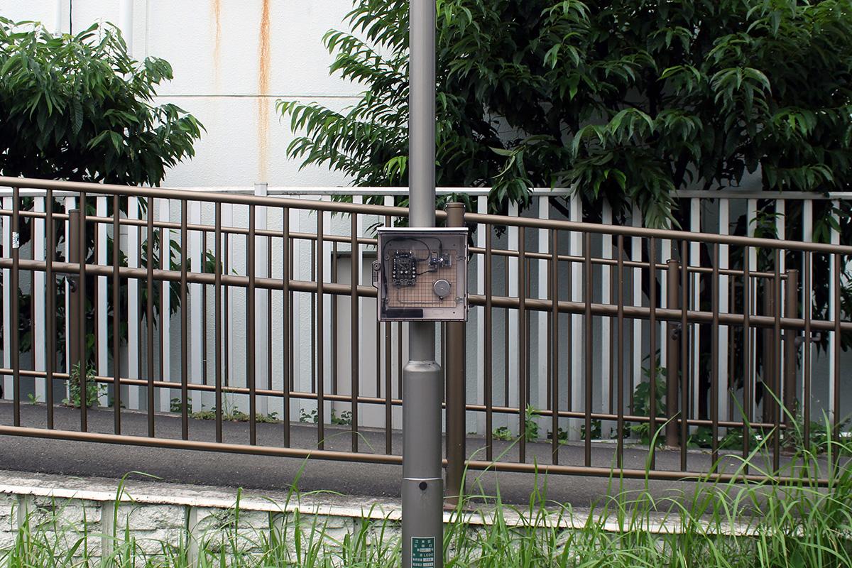 03 Onagi River - Shirakawa - Installation photo 4 - Sounding the City 005 - Sumida-ku 墨田区 2019